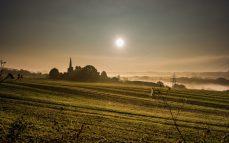 Barming Chursh dawn