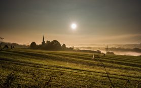 Barming Chursh dawn